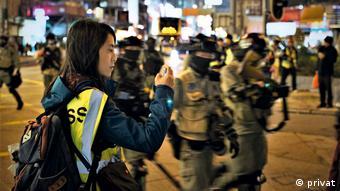 Weltzeit 1   2021   DW-Korrespondentin Phoebe Kong