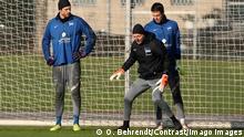 Fußball Hertha BSC   Torwarttrainer Zsolt Petry