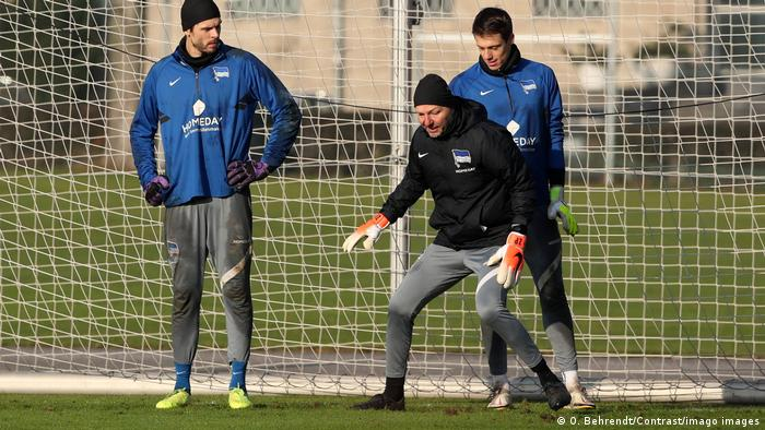 Fußball Hertha BSC | Torwarttrainer Zsolt Petry