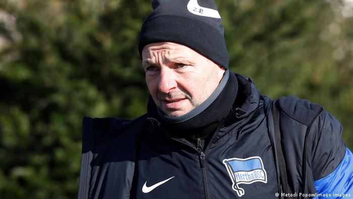 ex-Hertha Berlin coach Zsolt Petry