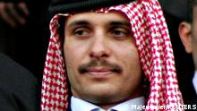 09.10.2009 Jordan's former Crown Prince Hamza bin Hussein attends official celebrations of the 10th anniversary of King Abdullah's accession to the throne, in Amman June 9, 2009. Picture taken June 9, 2009. REUTERS/Majed Jaber