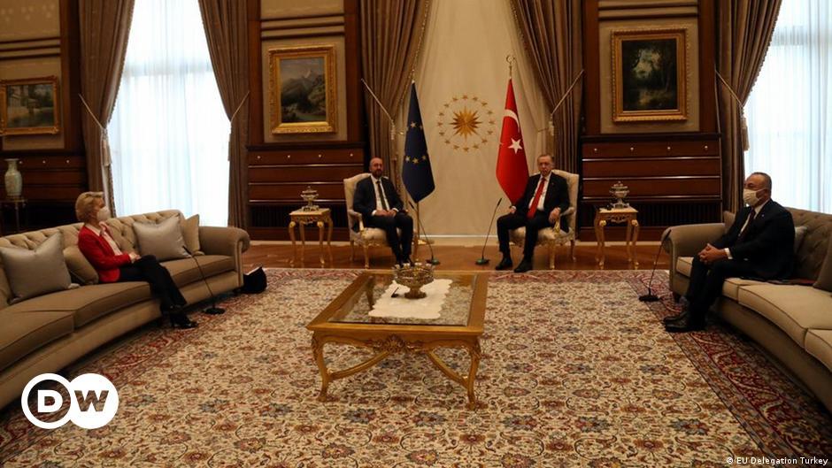Brussels chides Turkey on 'sofagate' von der Leyen snub | DW | 07.04.2021