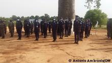 Afrika Agenten der Nationalen Polizei von Angola