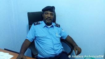 Afrika Paulo Miranda de Sousa, Polizeisprecher in Bengo, Angola