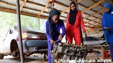 Afrika Nigeria Sokoto Automechanikerinnen