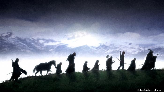 El señor de los anillos (2001) del cineasta Peter Jackson
