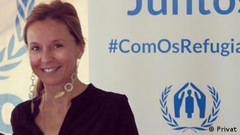 Margarida Loureiro - Leiterin des Büros des Hohen Flüchtlingskommissars der Vereinten Nationen