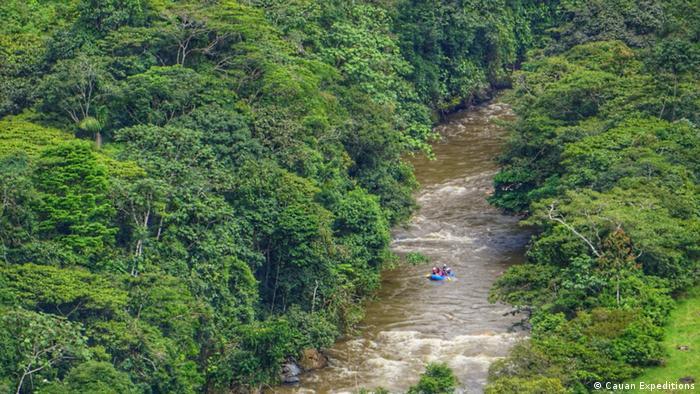Remando por la Paz - Rafting en Colombia.