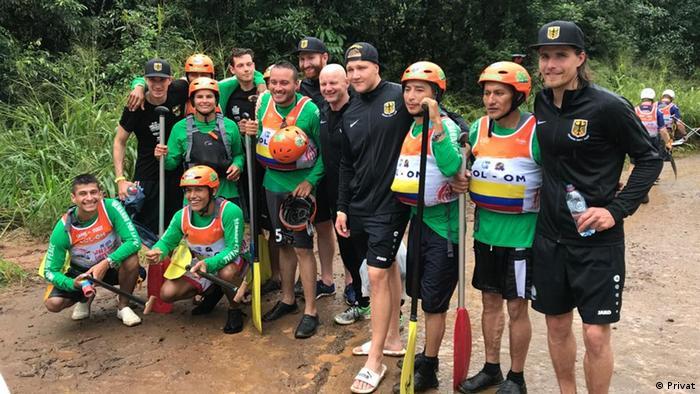 Kolumbien   Remando por la Paz - Rafting