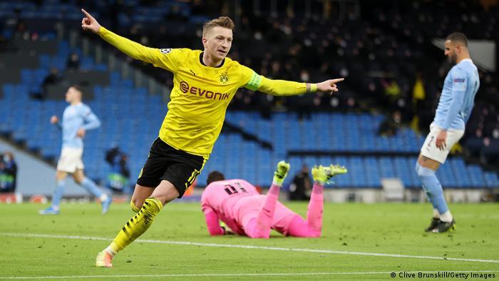 Champions League Live Borussia Dortmund Vs Manchester City Buildup Sports German Football And Major International Sports News Dw 13 04 2021