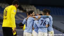 Fußball Champions League   Borussia Dortmund - Manchester City
