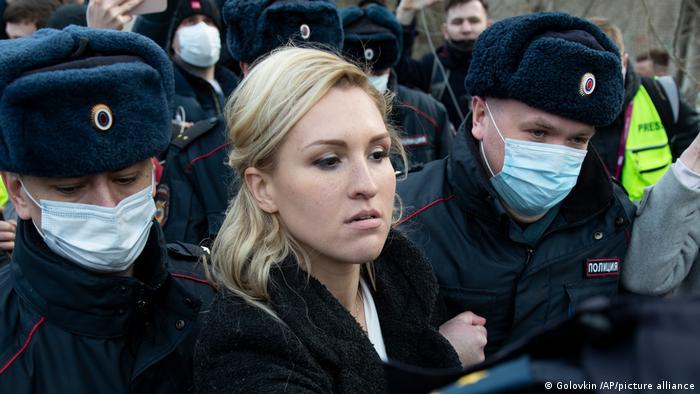 Russland I Nawalny I Straflager Pokrow