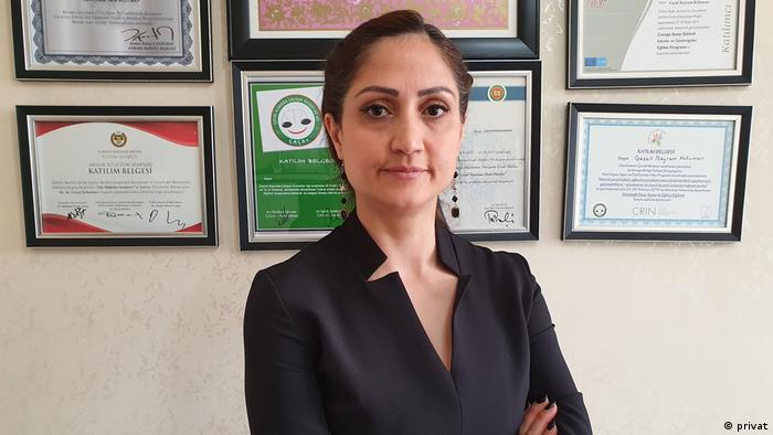 Diyarbakır Barosu Başkan Yardımcısı ve Çocuk Hakları Merkezi Koordinatörü avukat Gazal Bayram Koluman