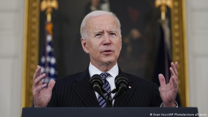 US Presidnet Joe Biden