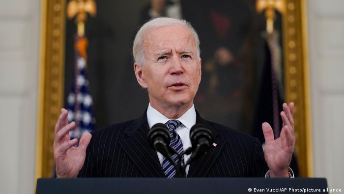 USA Coronavirus - Ansprache Joe Biden zur Covid-19 Impfung