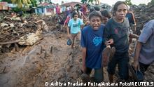 Indonesien | Tödliche Zyklon | Retter suchen nach Überlebenden