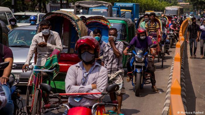 Bangladesch Corona Pandemie