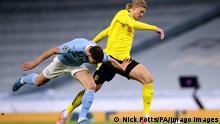 Weltspiegel 07.04.21 | Großbritannien | Manchester City vs Borussia Dortmund - UEFA Champions League - Viertelfinale