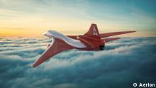 Прототип літака AS2 компанії Aerion Supersonic