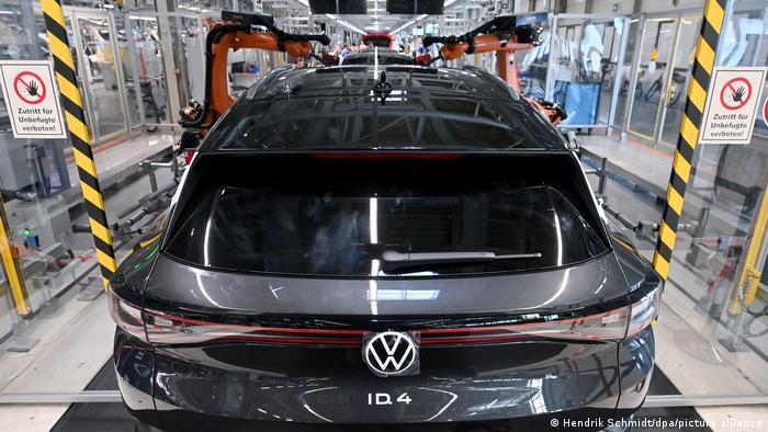 Fábrica de Volkswagen en Alemania.