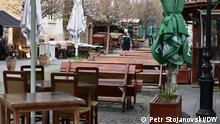 Nord-Mazedonien Skopje | Coronakrise: Gastronomie muss wieder schließen