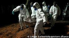Станом на початок квітня в Бразилії від наслідків COVID-19 щодня вмирає понад 3 тисячі осіб