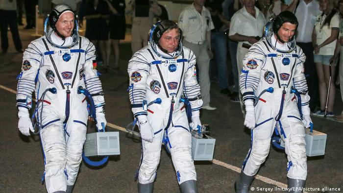 ISS Crew | Alexander Gerst, Maxim Suraev und Gregory R. Wiseman (28.05.2014)