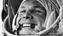 Juri Gagarin in der Wostok 1