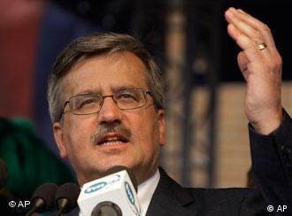 Komorowski has secured the presidency