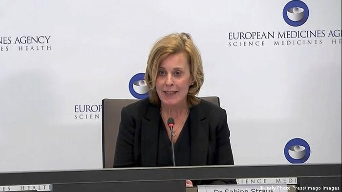 Pressekonferenz zu AstraZeneca | Dr. Sabine Straus Vorsitzende des Pharmacological Risks Surveillance Committee