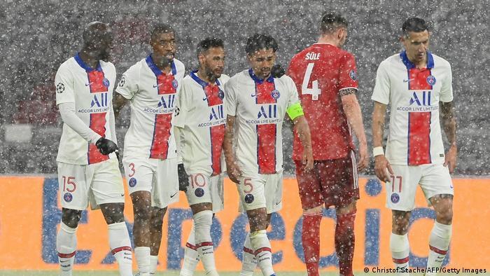 Fußball Champions League  FC Bayern - Paris Saint-Germain