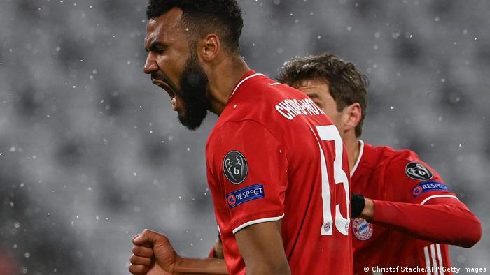 Bayern-Angreifer Eric-Maxim Choupo-Moting erzielt nur einen Treffer trotz mehrerer Chancen