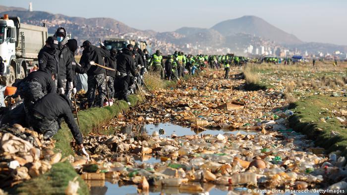 Weltspiegel 08.04.21 | Bolivien | Starke Umweltsverschmutzung am Uru Uru See