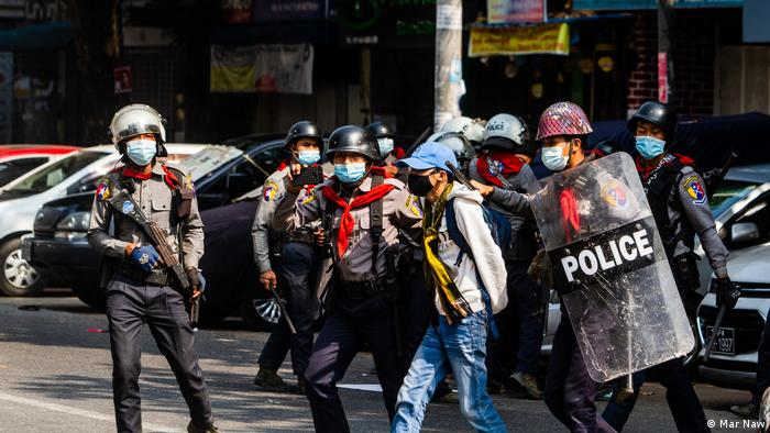 Myanmar security forces