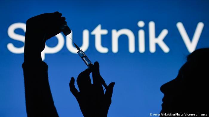 Russia's Sputnik V vaccine in a syringe