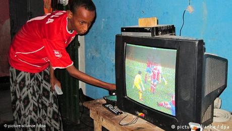 Somalia TV Fußball WM Flash-Galerie (picture alliance / dpa)