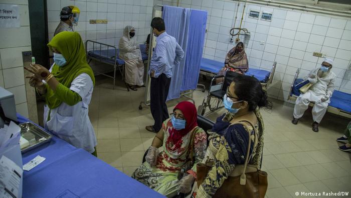 Bangladesch AstraZeneca Impfung