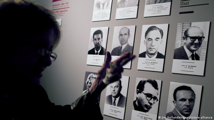 Портреты участников операции по похищению Эйхмана