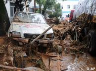 福建南平遭受洪灾
