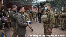 Президент України Володимир Зеленський відвідав Донбас 8 квітня