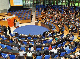 Global Media Forum 2010 was held in the former parliament building in Bonn