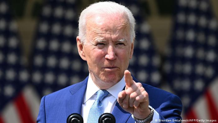 USA Washington | Pressekonferenz Präsident Joe Biden