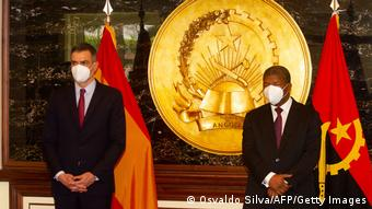 Angola | Besuch Pedro Sanchez in Luanda