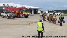 Mosambik   Palma   nach Angriff von Rebellen