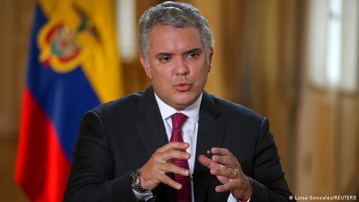 Duque reitera compromiso de Colombia con la protección de migrantes |  Colombia en DW | DW | 20.06.2021