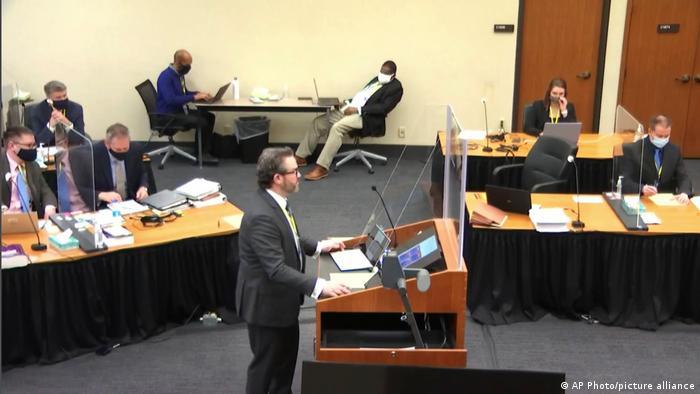USA   Minneapolis   Chauvins Anwalt Eric Nelson