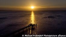 BdTD Deutschland Sonnenaufgang an der Ostsee