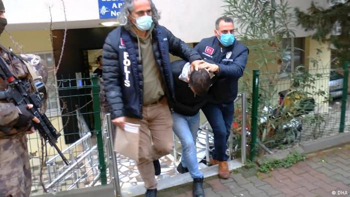 Türkei Polizeieinsatz gegen Sedat Peker
