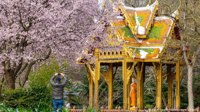 BdT Deutschland Asiatische Pagoden im Westpark