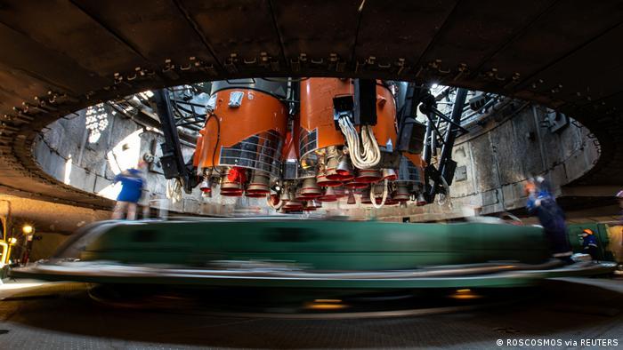 Imagen referencial de la nave rusa Soyuz MS-18.